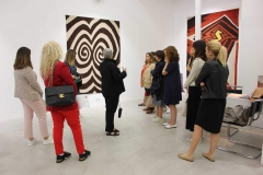 "SPOT.TER Evening Meeting | ""Un-Weave"" Exhibition Tour with Belkıs Balpınar, Anna Laudel Contemporary, 2018"